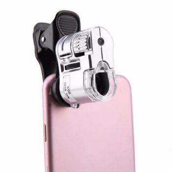 Микроскоп на камеру телефона с увеличением 60х