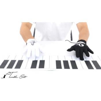 Электронные перчатки пианино (синтезатор) с динамиком