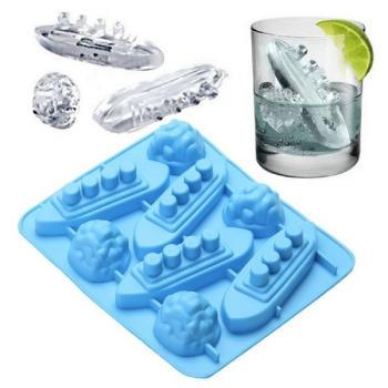 Силиконовая форма для льда Титаник