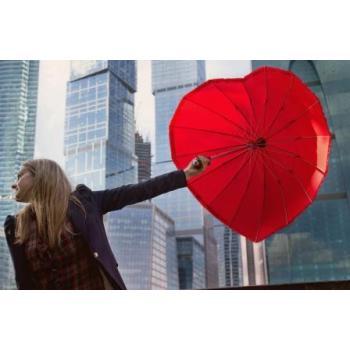 Зонт  в форме сердца
