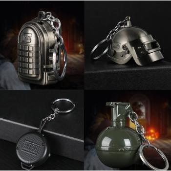 Зажигалка из PUBG (шлем, граната, сковорода, рюкзак)