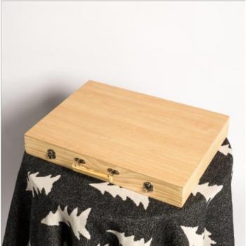 Набор юного художника в деревянном чемоданчике (251 предмета)