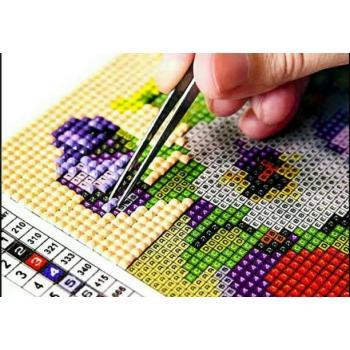 Алмазная вышивка (мозаика) - Рисование стразами