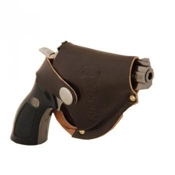 Зажигалка Револьвер в кобуре