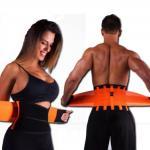 Утягивающий компрессионный термо пояс для похудения
