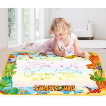 Волшебный коврик для рисования водой 100х70см