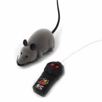 Игрушка-мышь на пульте дистанционного управления для кошки