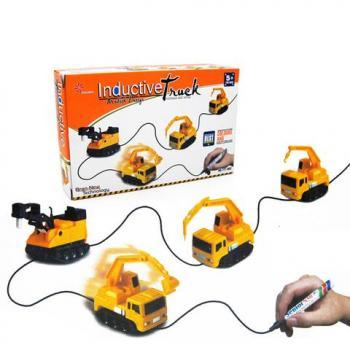 Индуктивная игрушечная машинка