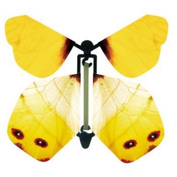 Летающая бабочка сюрприз, вылетающая из открытки