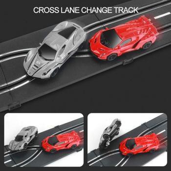 Гоночный трек - Гоночная трасса на две машинки