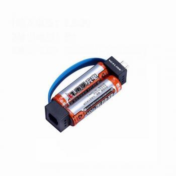 Зарядное устройство micro USB, работающее от батареек АА с адаптером на iPhone
