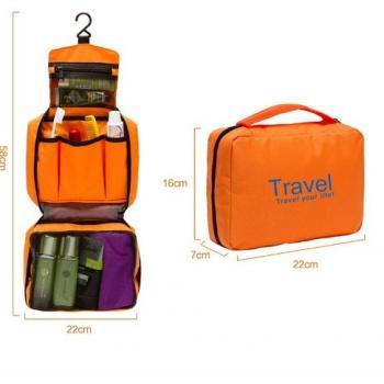 Дорожная сумка-органайзер для туалетных принадлежностей