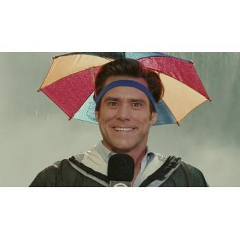 Зонт на голову от дождя или солнца