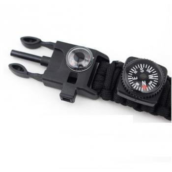Тактические часы с браслетом из паракорда